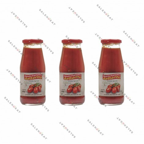 Datterino Tomatoes Purée, 3 x 420 g