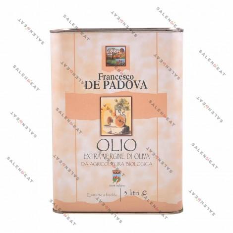 "Organic ""Blend"" Extra Virgin Olive Oil  - 3 L"