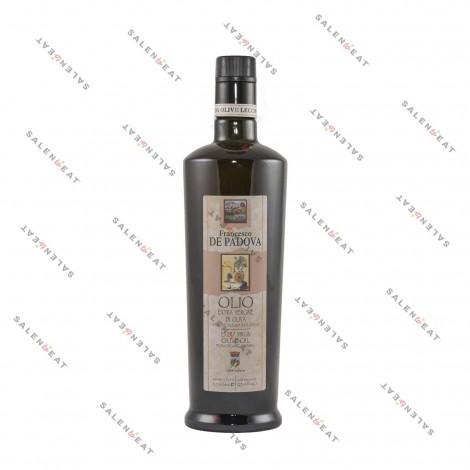 "Organic ""Monocultivar"" Extra Virgin Olive Oil, Leccino – 0,75 L"